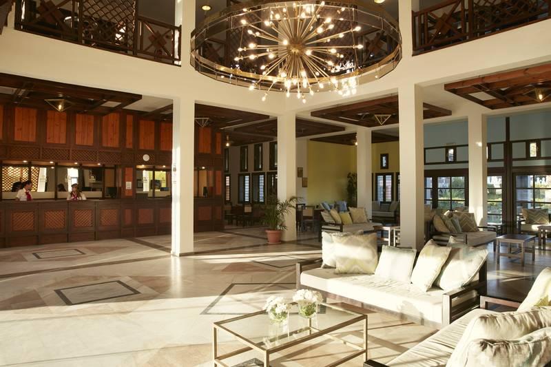 Simantro Beach Hotel 5* - recepcia