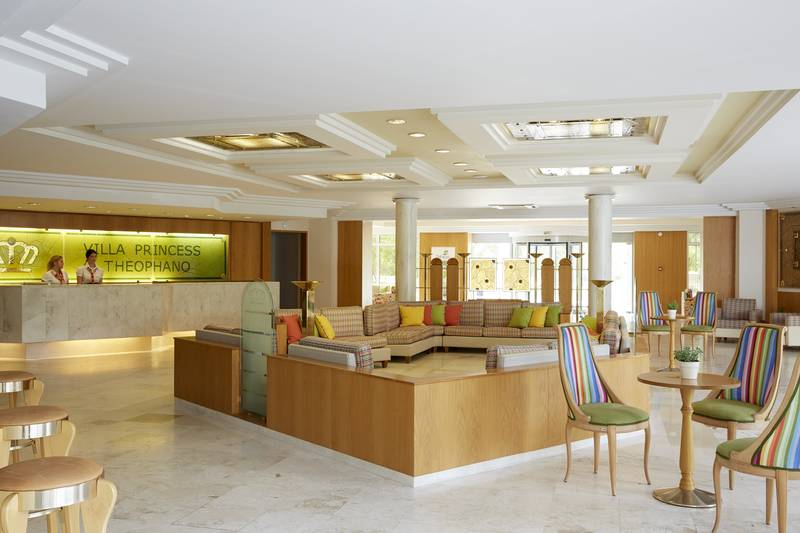 Theophano Imperial Palace 5*  - recepcia