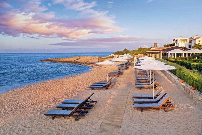 Knossos Royal Village 5* - pláž