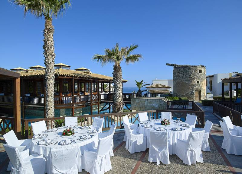 Knossos Royal Village 5* - reštaurácia