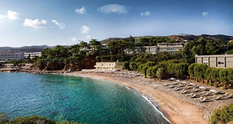 Capsis Elite Resort 5* - pláž