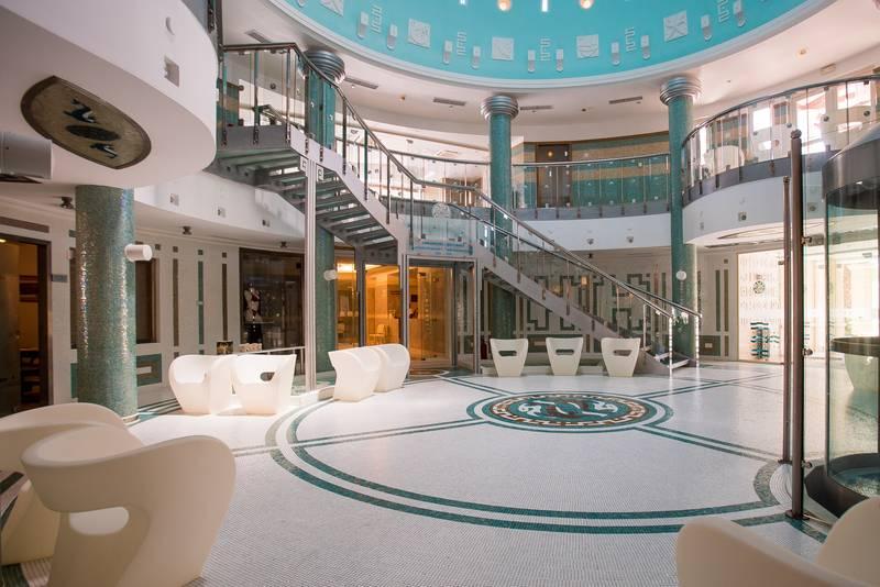 Olympian Village 5* - spa lobby