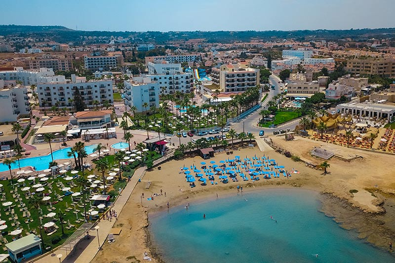 Anastasia Beach Hotel 4* - pláž