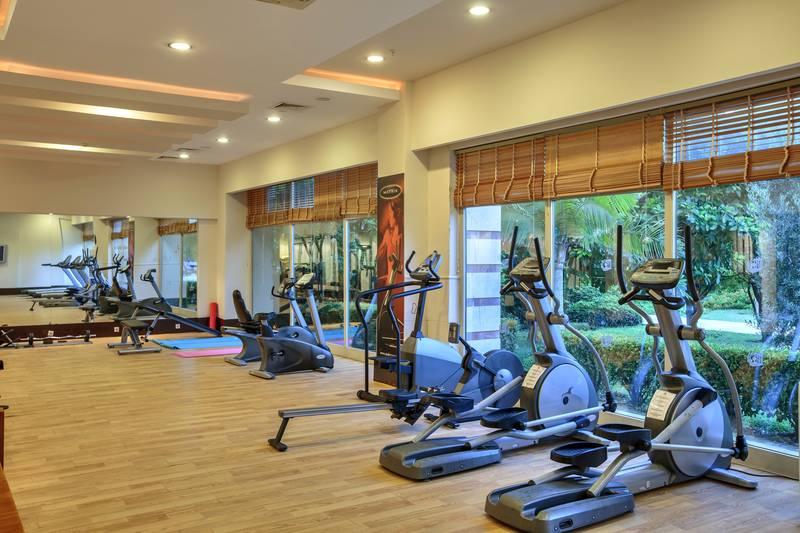 Kumköy Beach Resort & SPA 5˙ - fitnescentrum