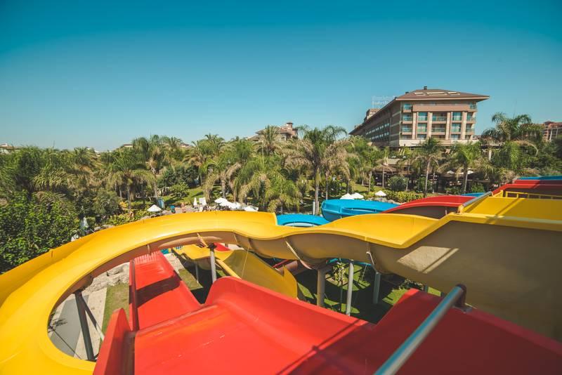 Kumköy Beach Resort & SPA 5˙ - tobogany
