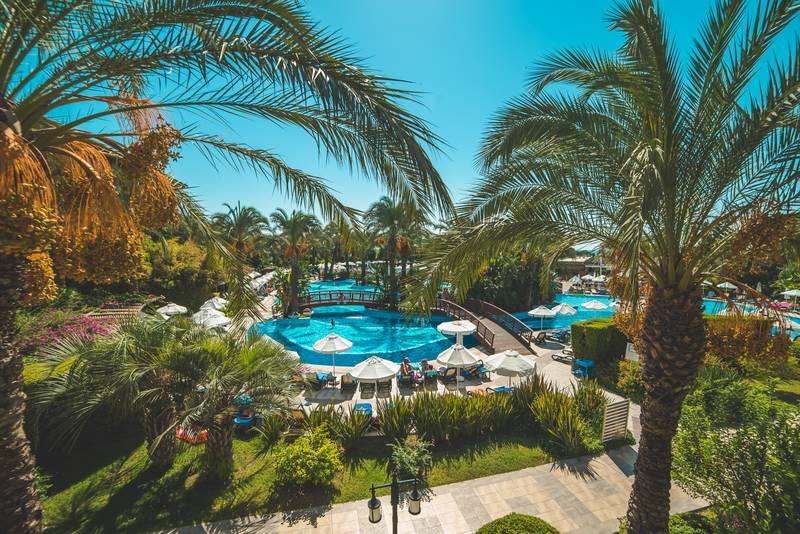 Kumköy Beach Resort & SPA 5˙ - bazén