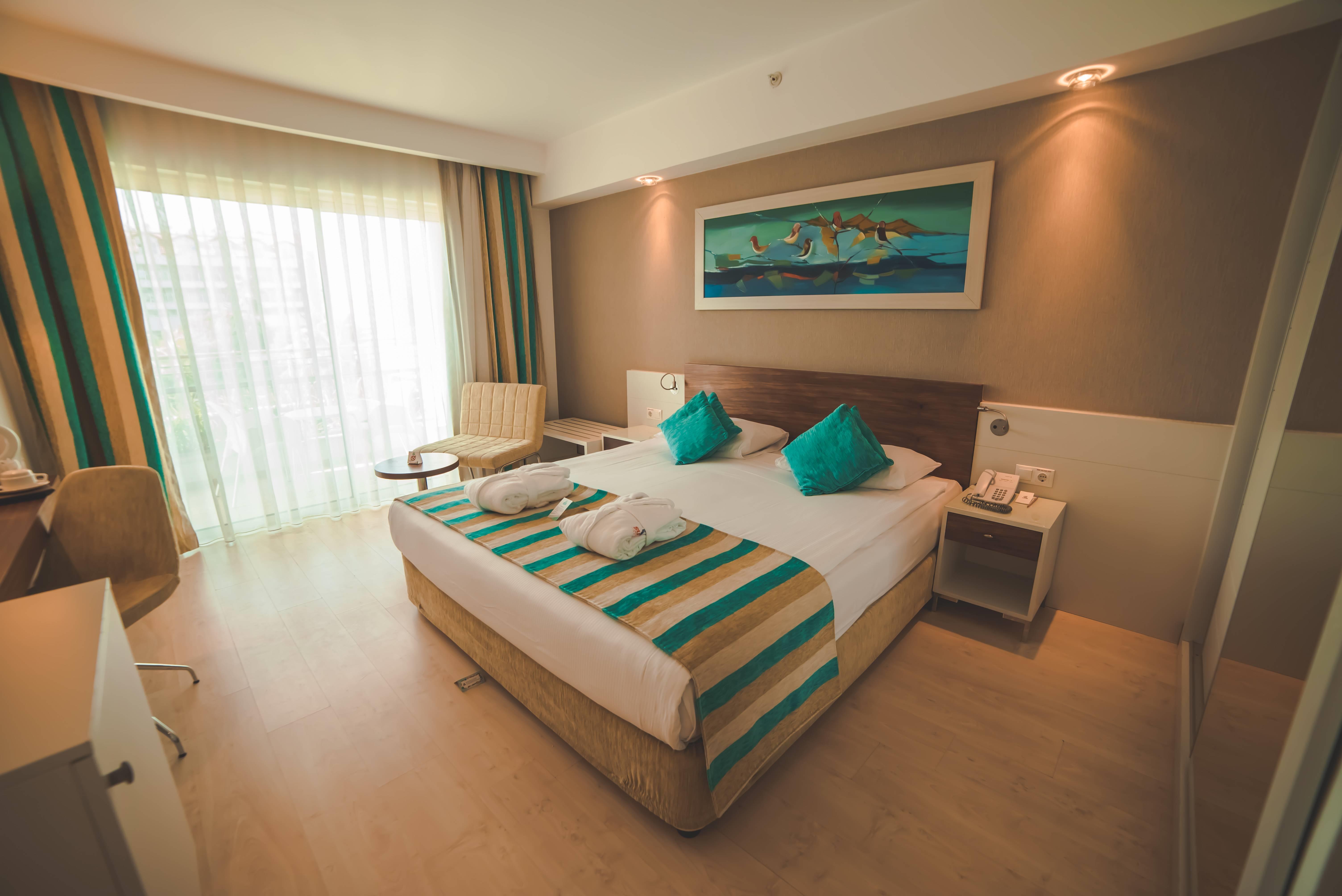 Evren Beach Resort Hotel & SPA 5˙ - izba