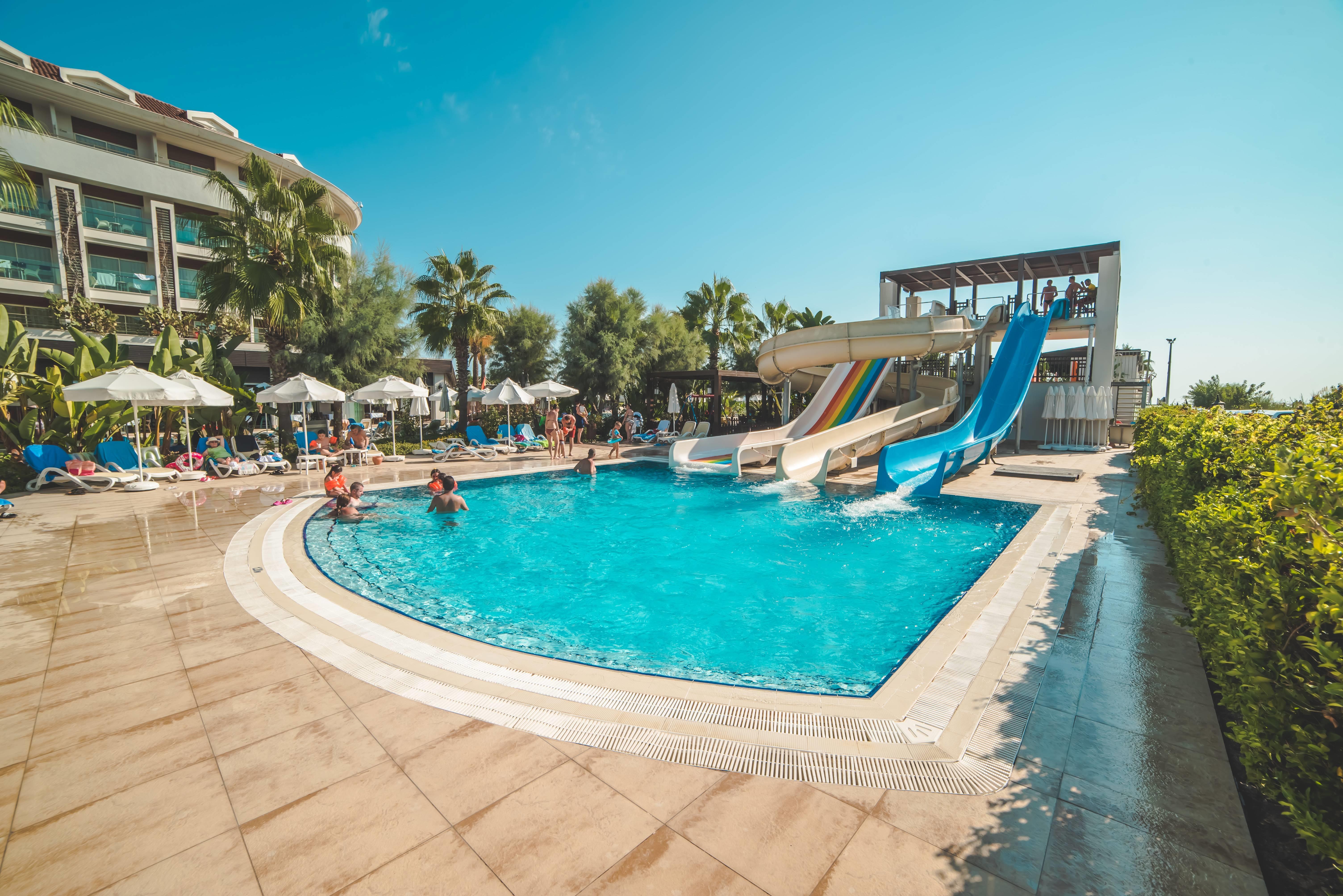 Evren Beach Resort Hotel & SPA 5˙ - tobogany