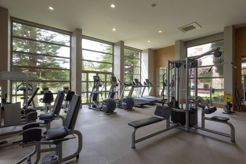 Barut Hemera 5* - fitnescentrum