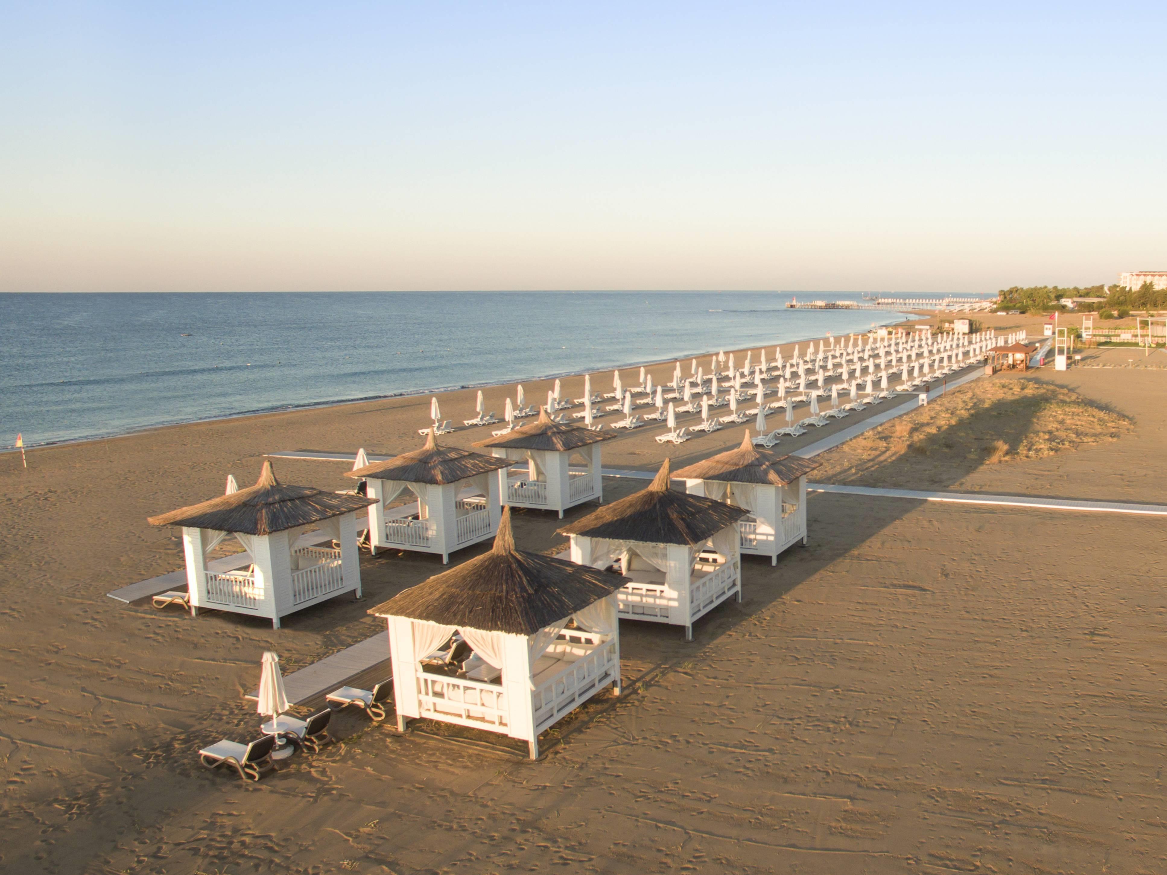 Barut Sorgun Sensatori 5* - pláž