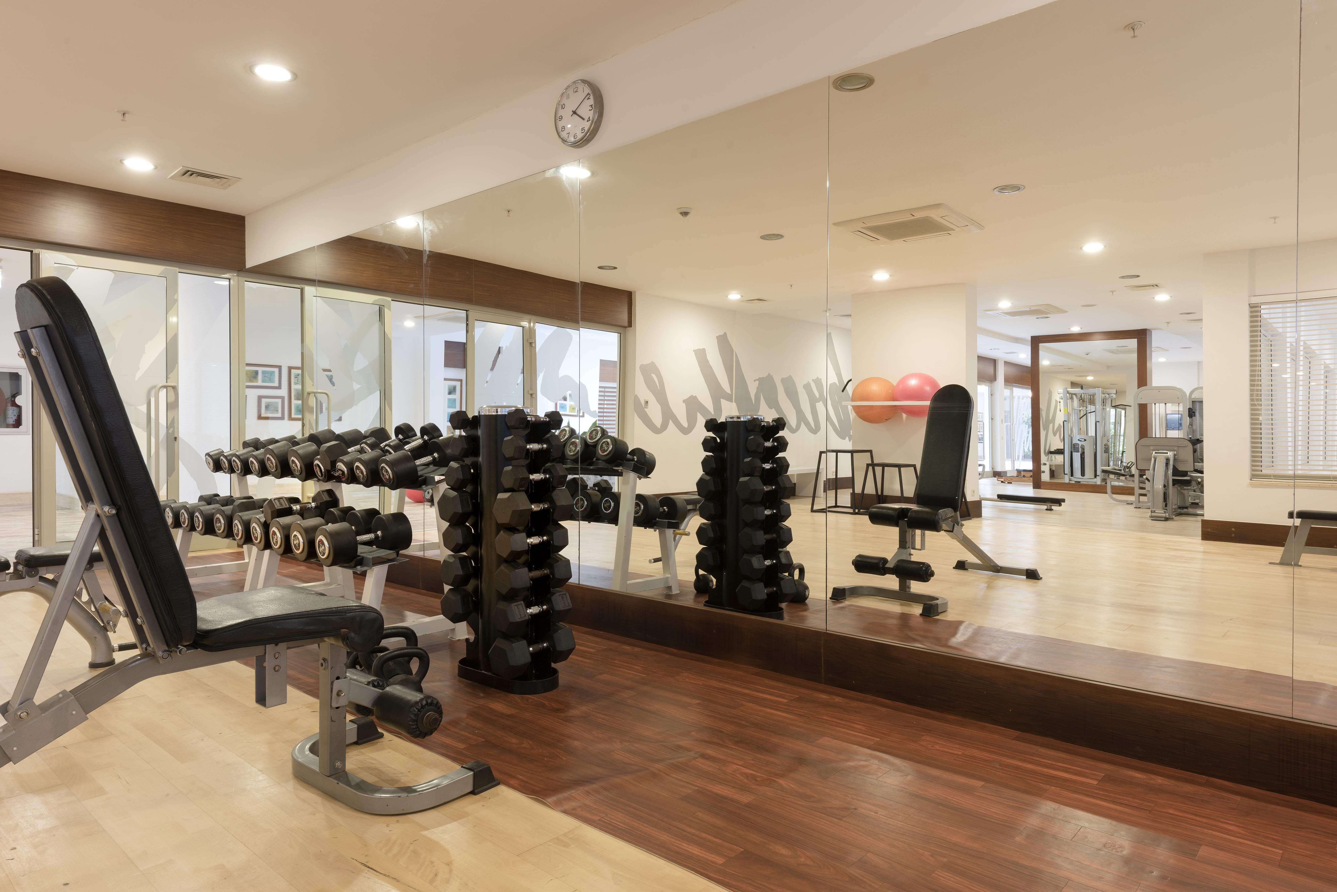Barut B Suites 4* - fitnescentrum
