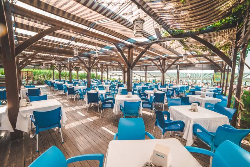 Adalya Ocean Deluxe 5* - reštaurácia