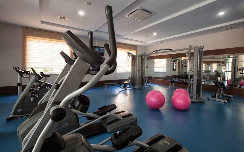 Adalya Ocean Deluxe 5* - fitnescentrum