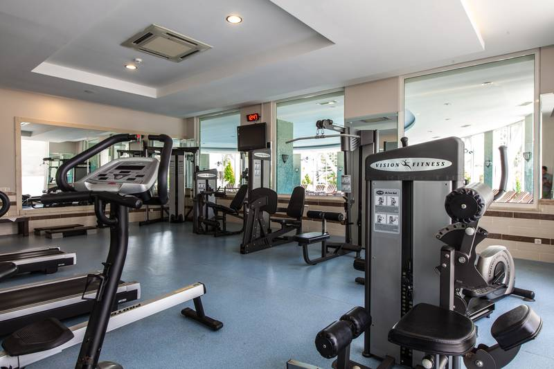 Adalya Resort & SPA 5* - fitnescentrum