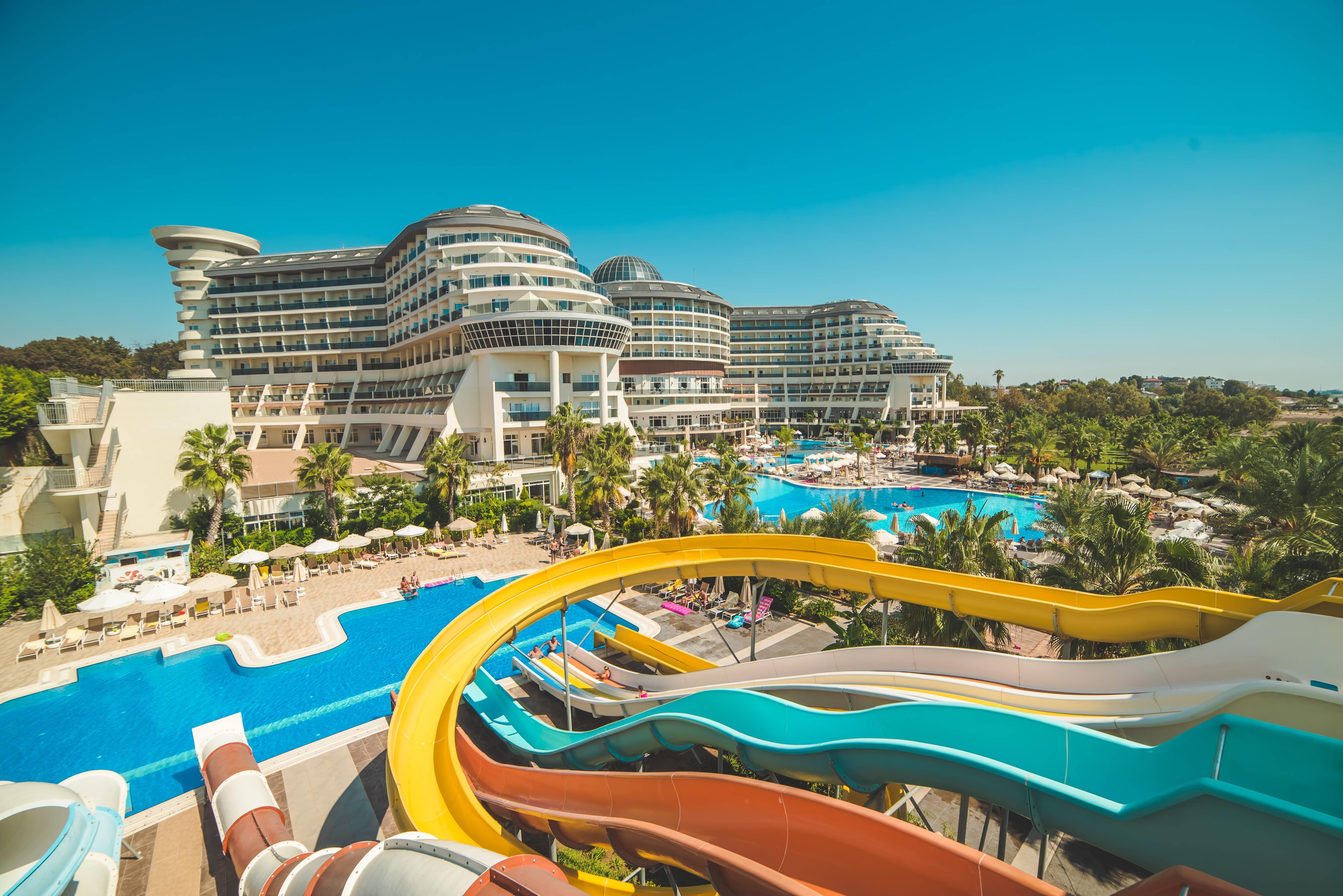 Sea Planet Resort & SPA 5* - bazén so šmýkačkami