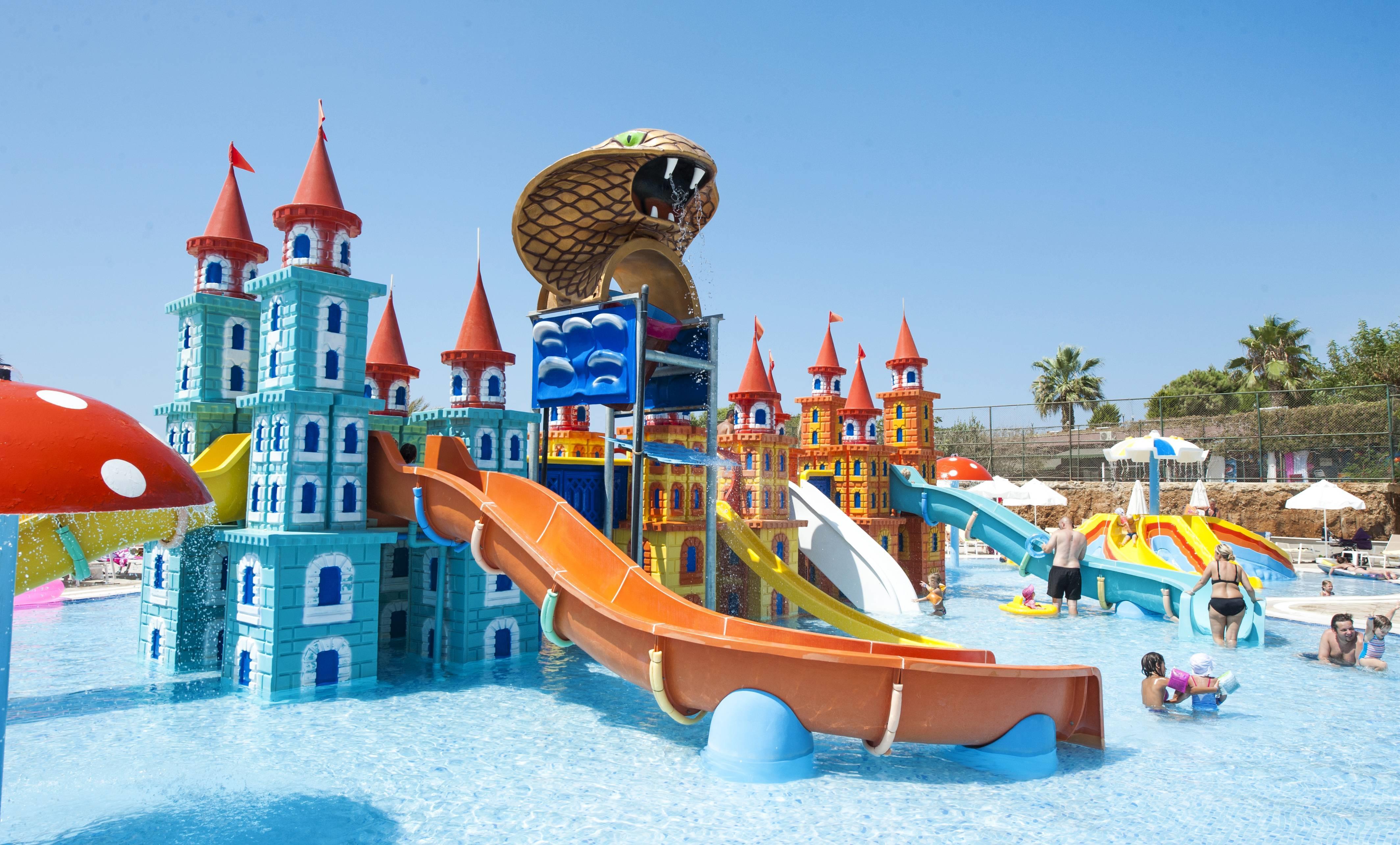 Sea Planet Resort & SPA 5* - detský bazén s atrakciami