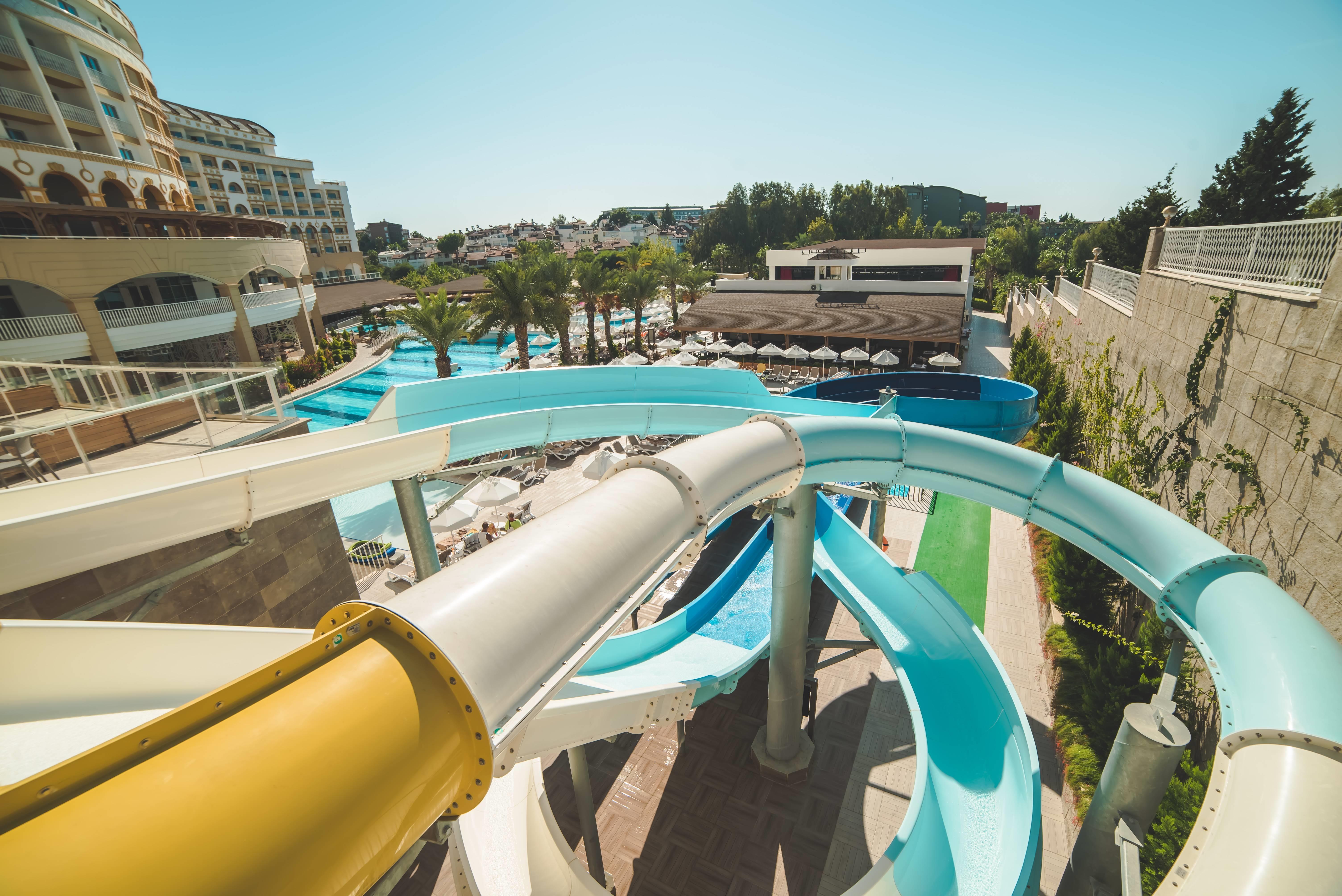 Sidemarin Beach & SPA 5* - bazén s tobogánmi