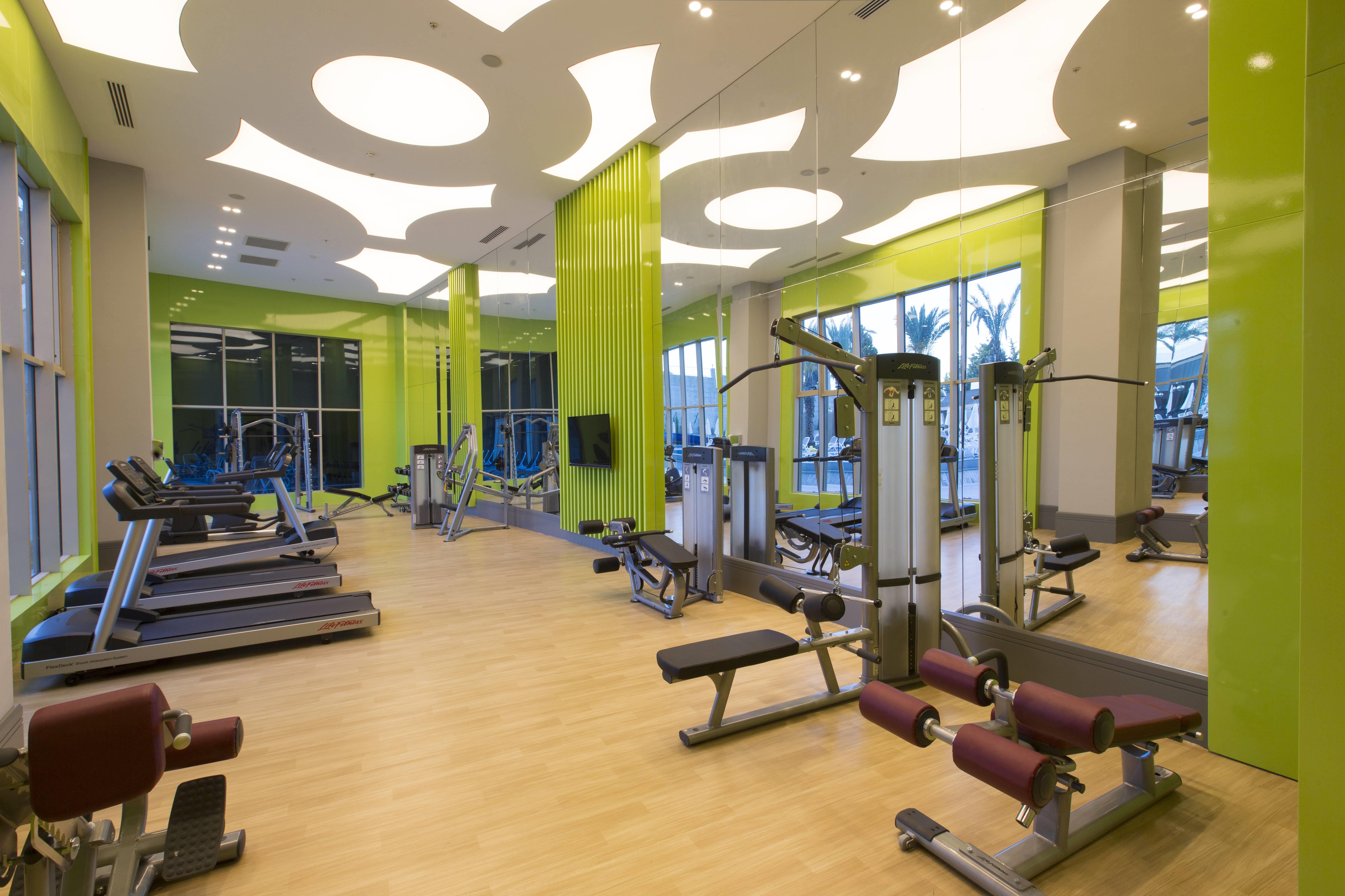 Sidemarin Beach & SPA 5* - fitnescentrum
