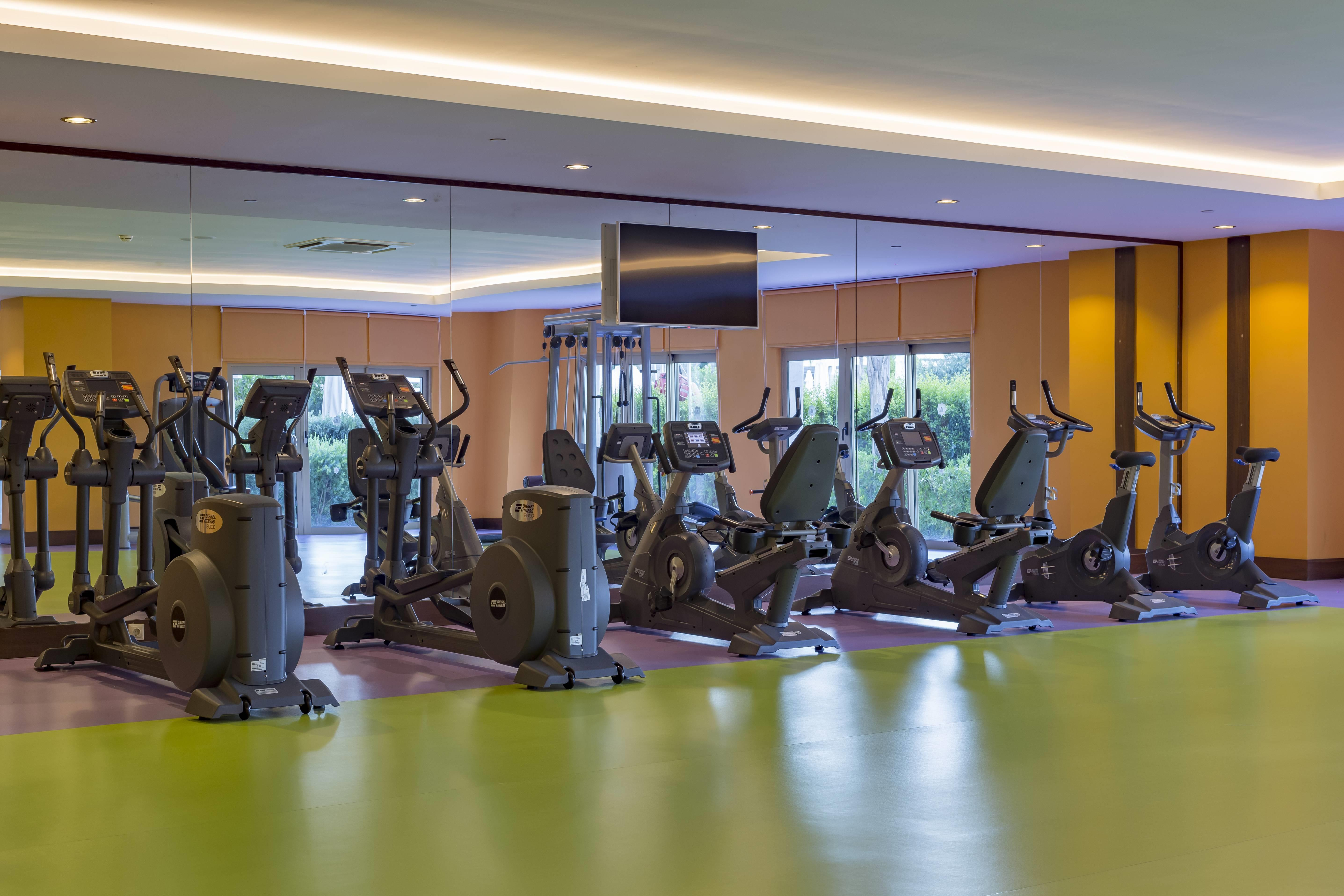 Royal Taj Mahal 5* - fitnescentrum
