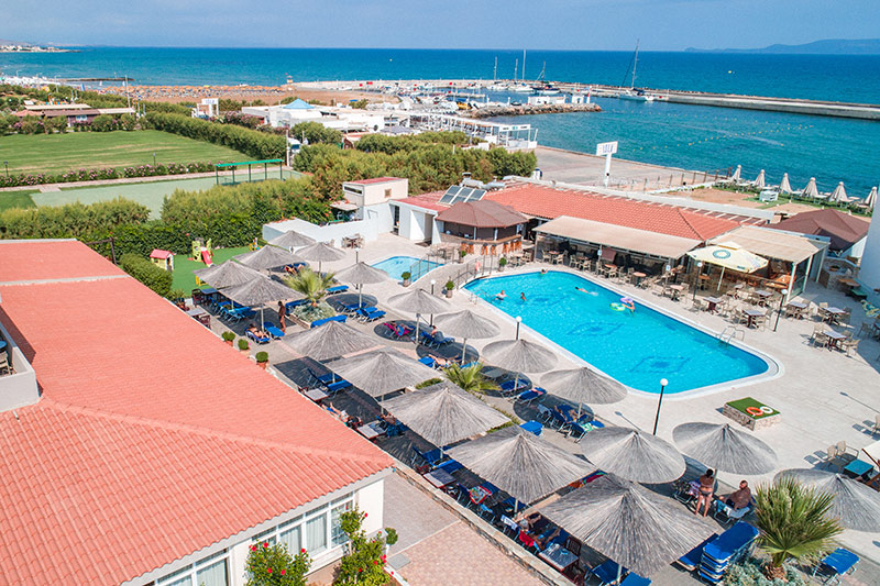 Kalia Beach Hotel 3* - areál