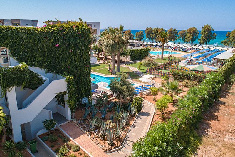 Malia Bay Beach Hotel & Bungalows 4* - areál
