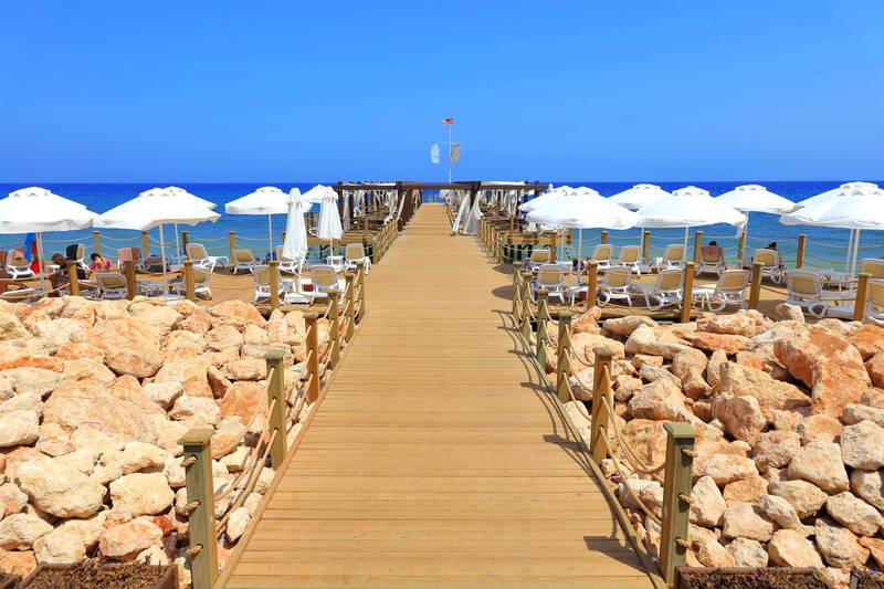 Concorde Luxury Resort & Casino 5* - pláž