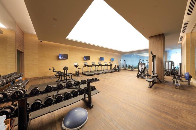Concorde Luxury Resort & Casino 5* - fitnescentrum