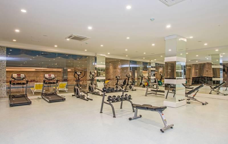 Sirius Deluxe 5* - fitnescentrum