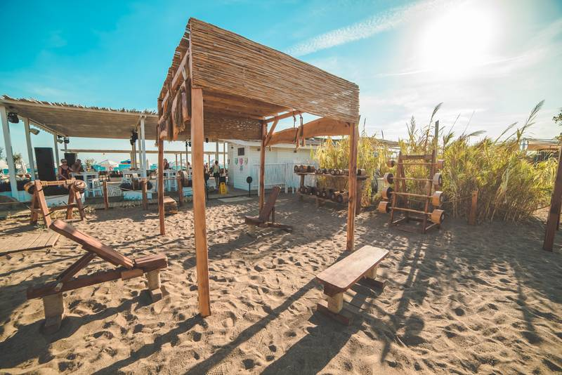 Lara Barut Collection 5* - fitnescentrum na pláži