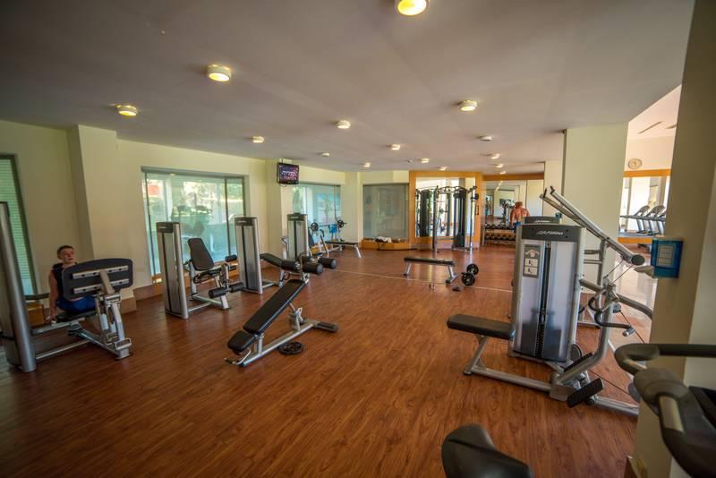 Pine Beach Belek 5* - fitnescentrum