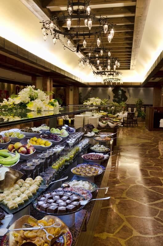 Gloria Golf Resort 5˙ - reštaurácia