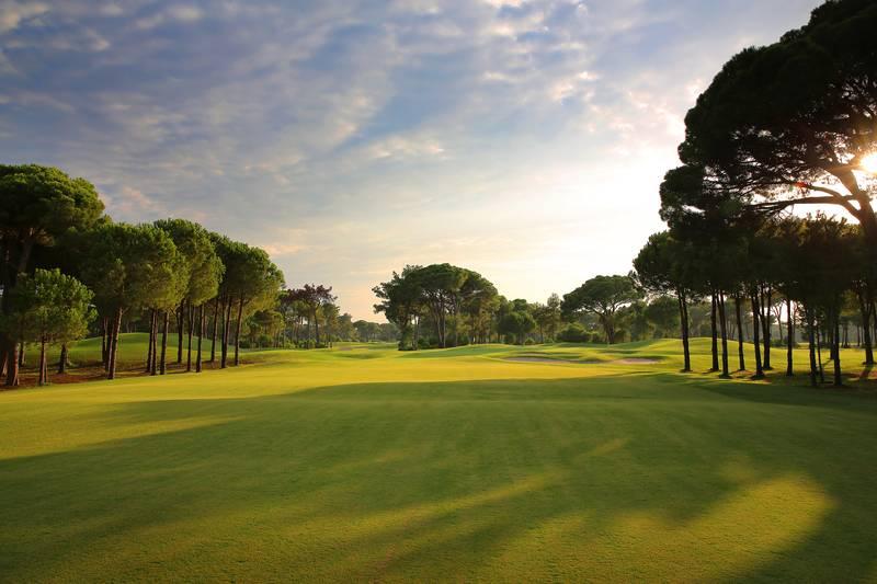 Gloria Golf Resort 5˙ - golfové ihrisko