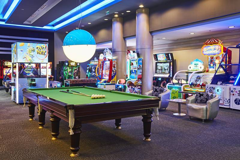 Gloria Golf Resort 5˙ - herňa