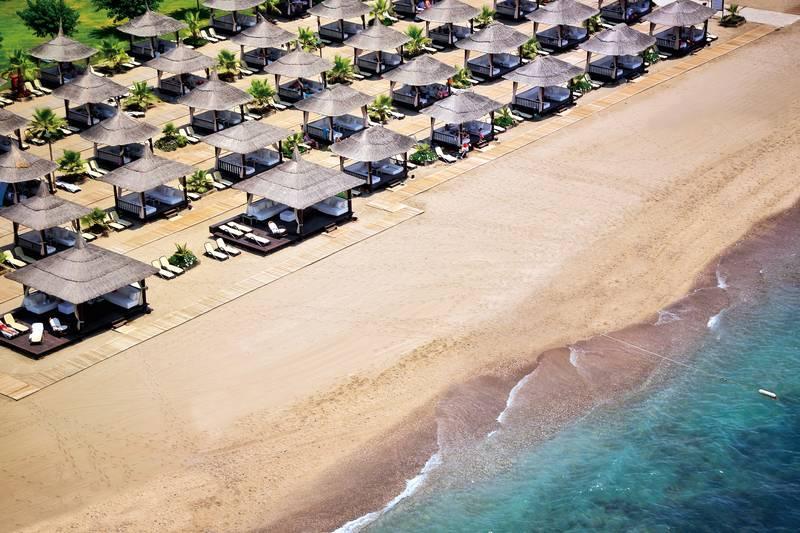 Gloria Serenity Resort 5˙ - pláž