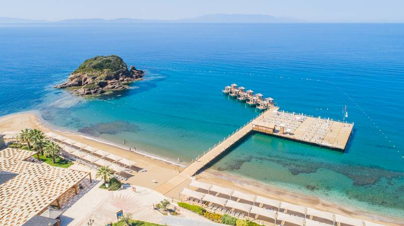 Efes Royal Palace Resort & SPA 5* - pláž