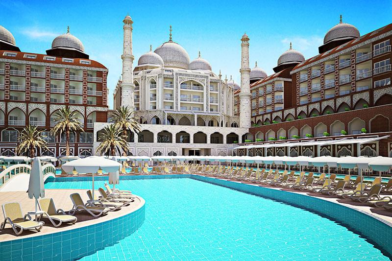 Royal Taj Mahal 5* - bazén