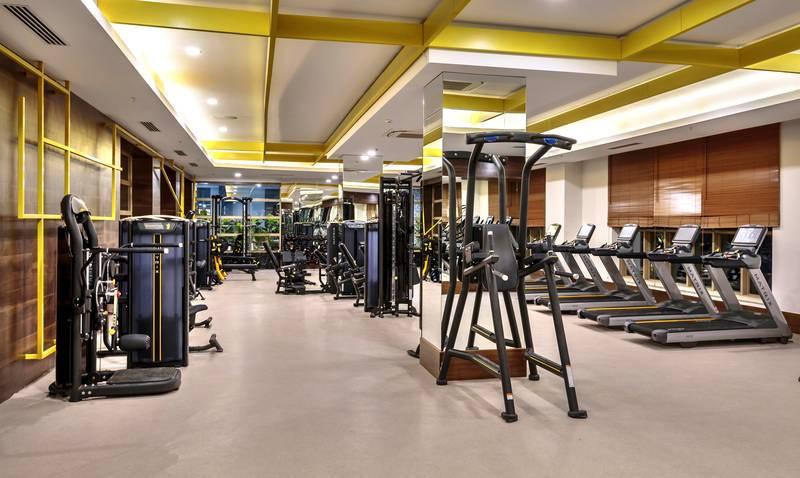 Efes Royal Palace Resort & SPA 5˙ - fitnescentrum