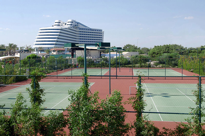 Titanic Beach Resort Hotel 5* - tenisové kurty