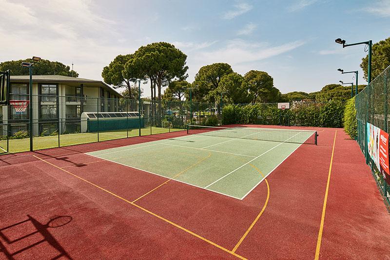 Gloria Verde Resort 5* - tenisový kurt