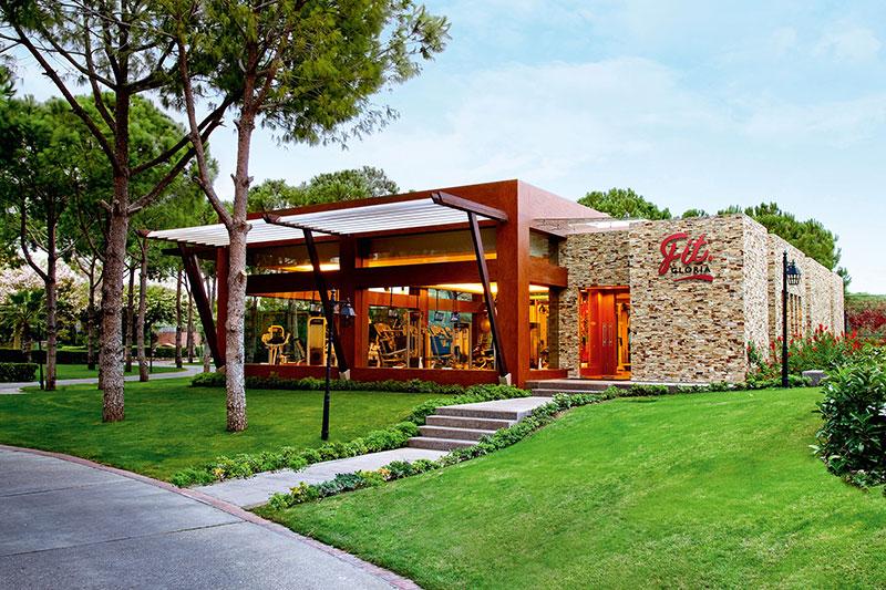 Gloria Golf Resort 5* - fitnescentrum