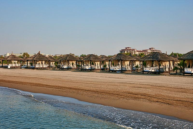Gloria Serenity Resort 5* - pláž