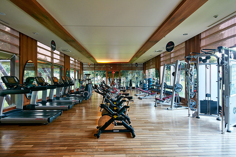 Gloria Serenity Resort 5* - fitnescentrum