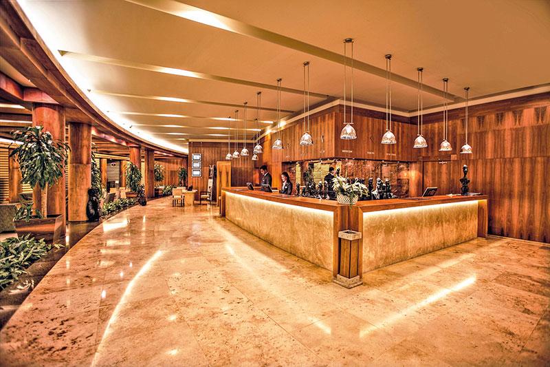 Gloria Serenity Resort 5* - recepcia