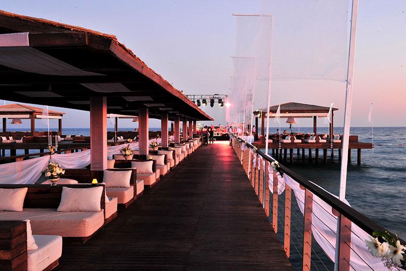 Gloria Serenity Resort 5* - mólo