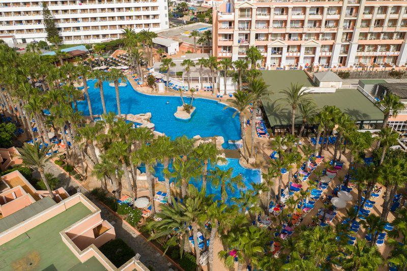 Playa Capricho 4* - areál hotela