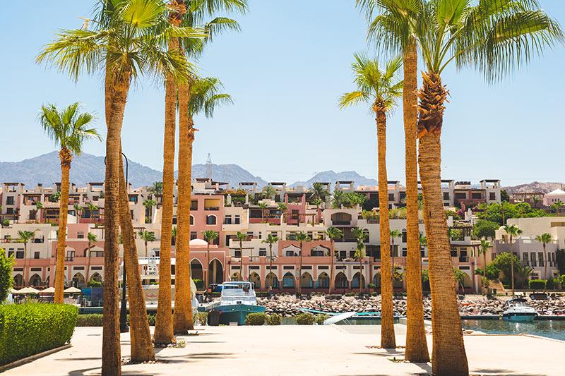 Tala Bay Resort 5* - marína Tala Bay