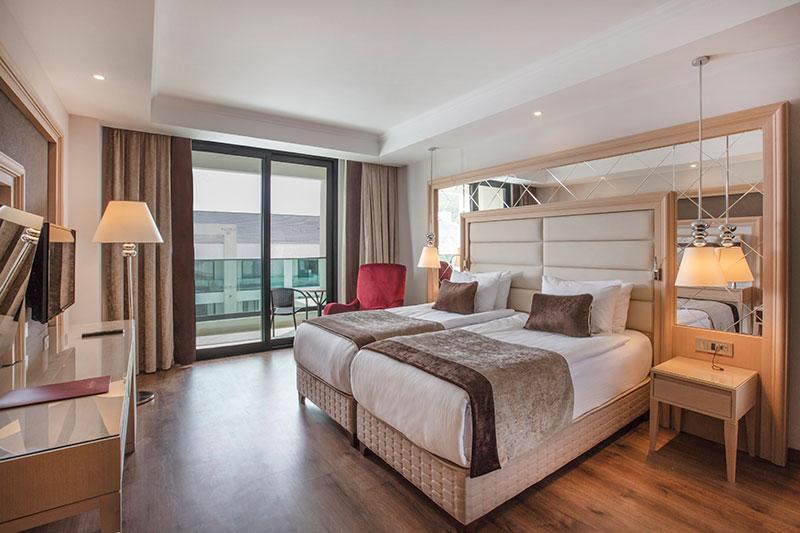 Korumar Ephesus Beach Resort & SPA 5* - izba