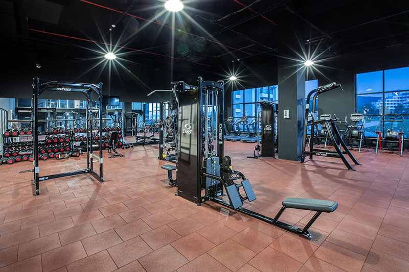Korumar Ephesus Beach Resort & SPA 5* - fitnescentrum