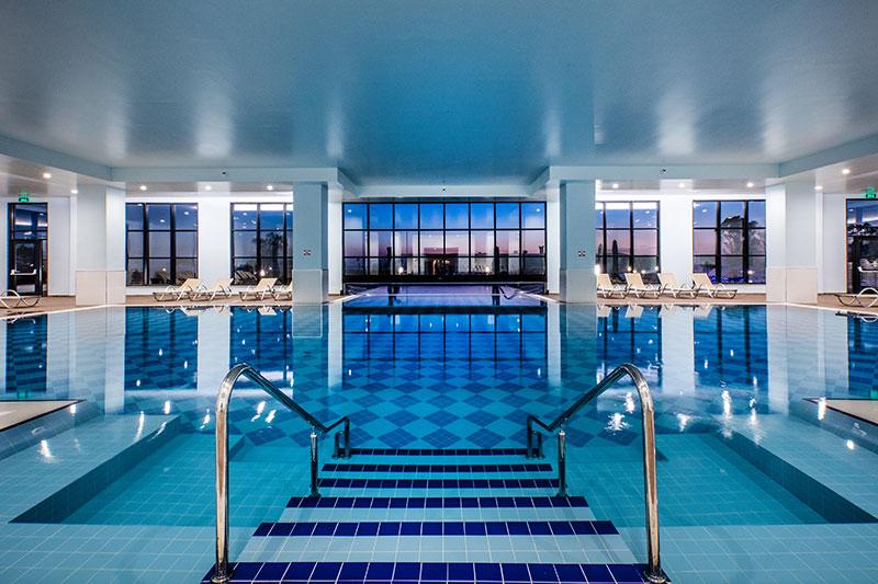 Korumar Ephesus Beach Resort & SPA 5* - vnútorný bazén