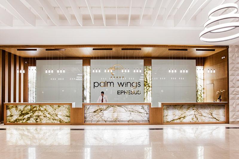 Palm Wings Ephesus Beach Resort 5* - lobby